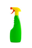 Spray Bottle. A spray bottle. Vivid and industrial colours. Isolated on white with clipping path excluding drop shadow royalty free stock image