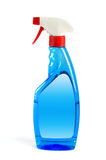 Spray bottle with clipping path studio isolated, cleaning concep Royalty Free Stock Photography