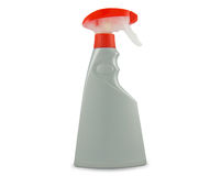 Spray bottle with clipping paths Stock Photos