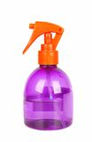 Spray bottle of hair care product. Stock Images