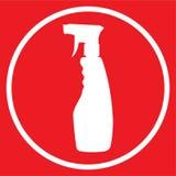 Spray bottle icon Royalty Free Stock Photos