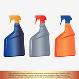 Spray bottle. Isolated on white background Royalty Free Stock Images