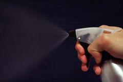 Spray bottle mist Stock Image