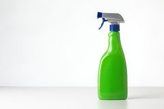 Spray bottle still life on white Stock Image