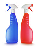 Spray Bottles Royalty Free Stock Images
