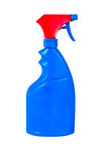Spray Bottles Stock Photo