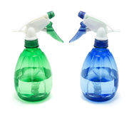 Spray Bottles Royalty Free Stock Image