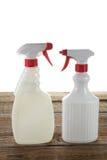 Spray Bottles Stock Image