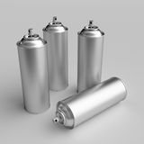 Spray can. 3D computer illustration with global illumination enabled Royalty Free Stock Image