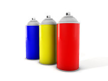 Spray can Royalty Free Stock Image