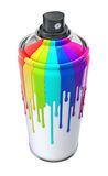 Spray can Royalty Free Stock Images