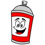 Spray Can Mascot. A vector illustration of a Spray Can Mascot Stock Photography