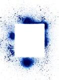 Spray can splatter design elem Royalty Free Stock Image