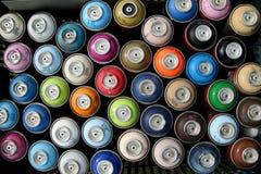 Spray Cans Royalty Free Stock Photos