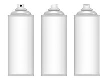 Spray cans Royalty Free Stock Photos