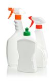 Spray Cleaning Bottles Stock Image