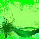 Spray color grunge Stock Images