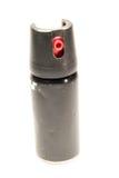 Spray de pimenta isolado no branco foto de stock