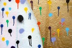 Spray dots Royalty Free Stock Photos
