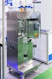 Spray dryer device of lab for producing dry powder from liquid or slurry rapidly drying with hot gas for industrial food. Pharmaceutical nutraceuticals