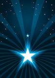 Τα αφηρημένα αστέρια λάμπουν Spray_eps Στοκ φωτογραφία με δικαίωμα ελεύθερης χρήσης