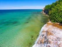 Spray Falls - Michigan UP Royalty Free Stock Photos