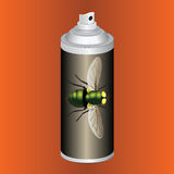 Spray the flies Royalty Free Stock Images