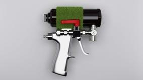 Spray foam gun Stock Images