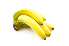 Spray fresh bananas Stock Images