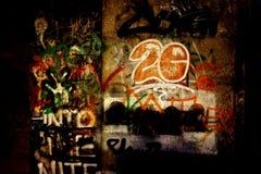 Spray gemalte Kunst Stockfotos
