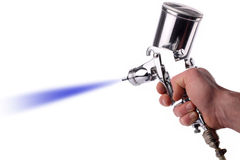 Spray gun Royalty Free Stock Image