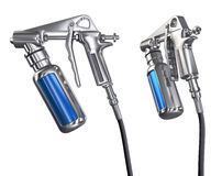 Spray Gun isolated Stock Images