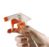 Spray, hand, bottle Stock Image