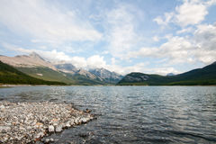 Spray Lake Landscape Stock Images