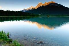 Spray Lakes Stock Image