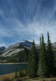 Spray Lakes and Goat Mountain Royalty Free Stock Photography