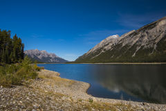 Spray Lakes Royalty Free Stock Images