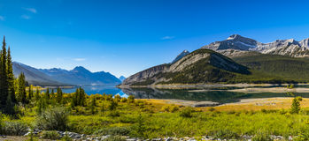 Spray Lakes Stock Images