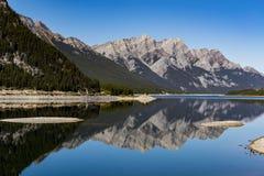 Spray Lakes Royalty Free Stock Image