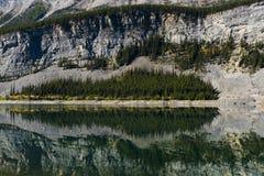 Spray Lakes Royalty Free Stock Photography