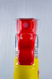 Spray Nozzle Bottle Mechanism Front Foam Cleaning Supply Detail Red Stock Photos