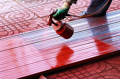 Spray paint Stock Photo