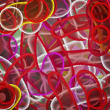 Spray paint abstract Stock Image