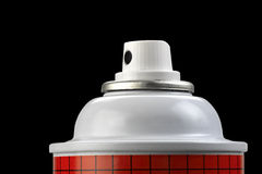 Spray paint can Stock Photography