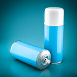 Spray paint can Royalty Free Stock Image
