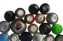 Spray paint can Royalty Free Stock Photography