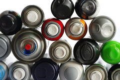 Spray paint can 3 Royalty Free Stock Images