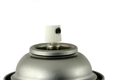 Spray paint can nozzle Stock Photography