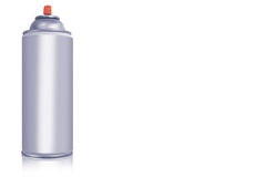 Spray paint can royalty free stock photo