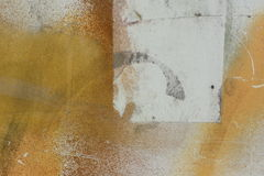 Spray Paint on Paper. Abstract Spray paint on paper and textured paper background Royalty Free Stock Photography